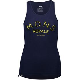 Mons Royale Viva La Tank Women navy